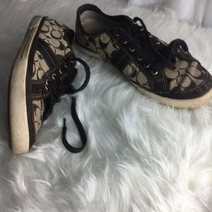 Men's Coach sneakers size 12 M